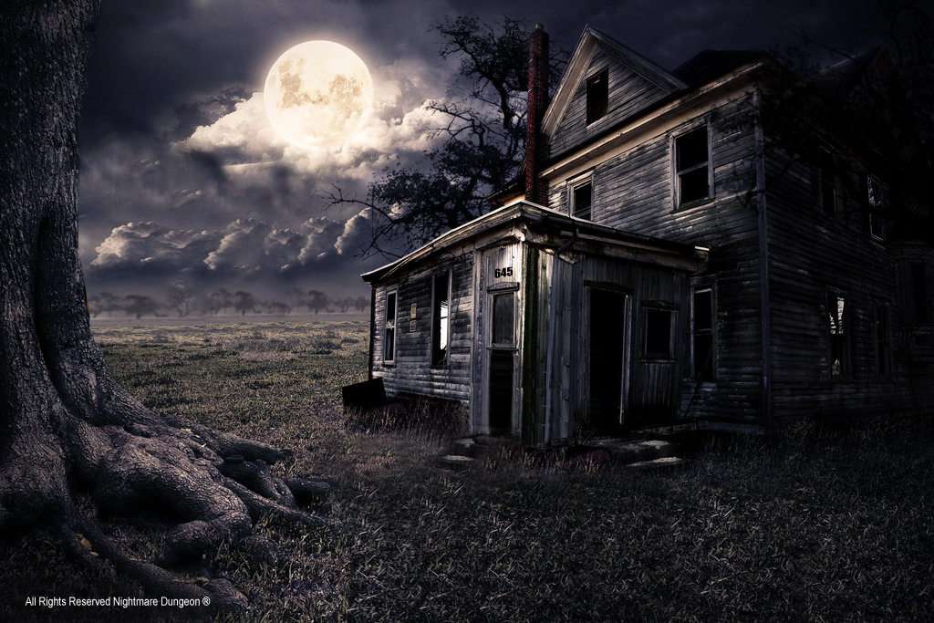 Haunted Houses in Greenville South Carolina house backgroundjpg 1024x683