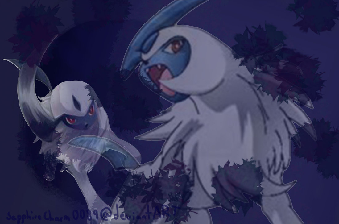 Absol Wallpaper by SapphireCharm0089 1099x726