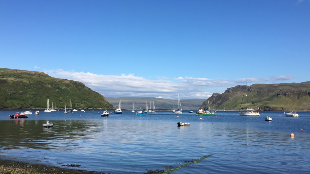 Portree Harbour Pictures Download Images on Unsplash 1000x563