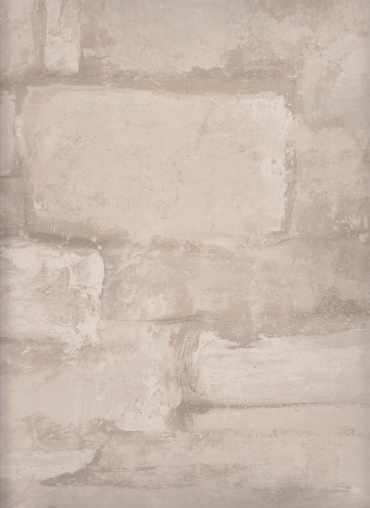Beige Tan Stacked Stone Brick Wallpaper HB2029 Seabrook Wallpaper 745x1023
