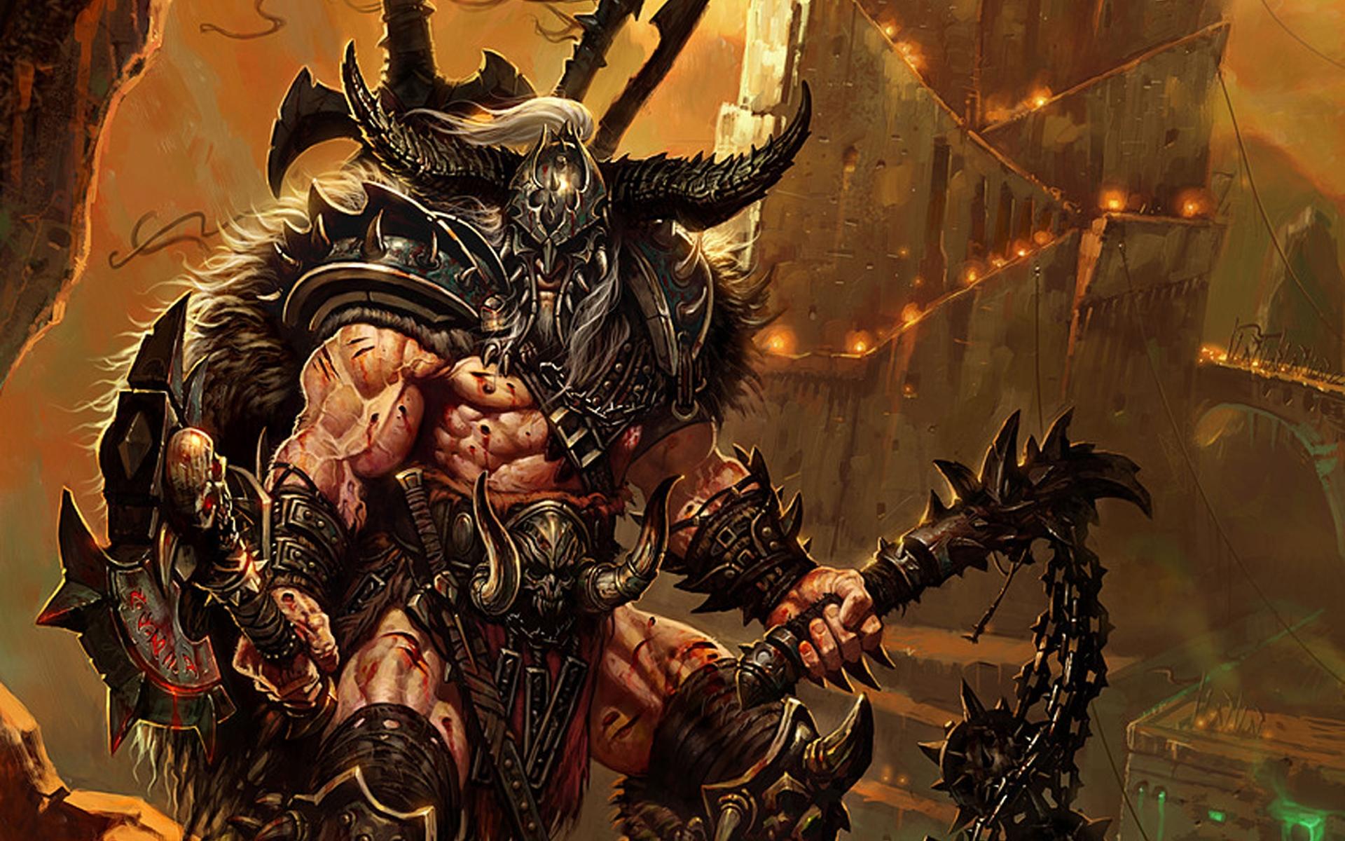 Diablo 3 Barbarian wallpaper   876956 1920x1200