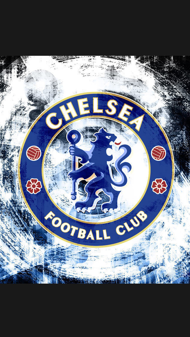 Chelsea Football Club Logo iPhone 6 6 Plus and iPhone 54 Wallpapers 640x1136