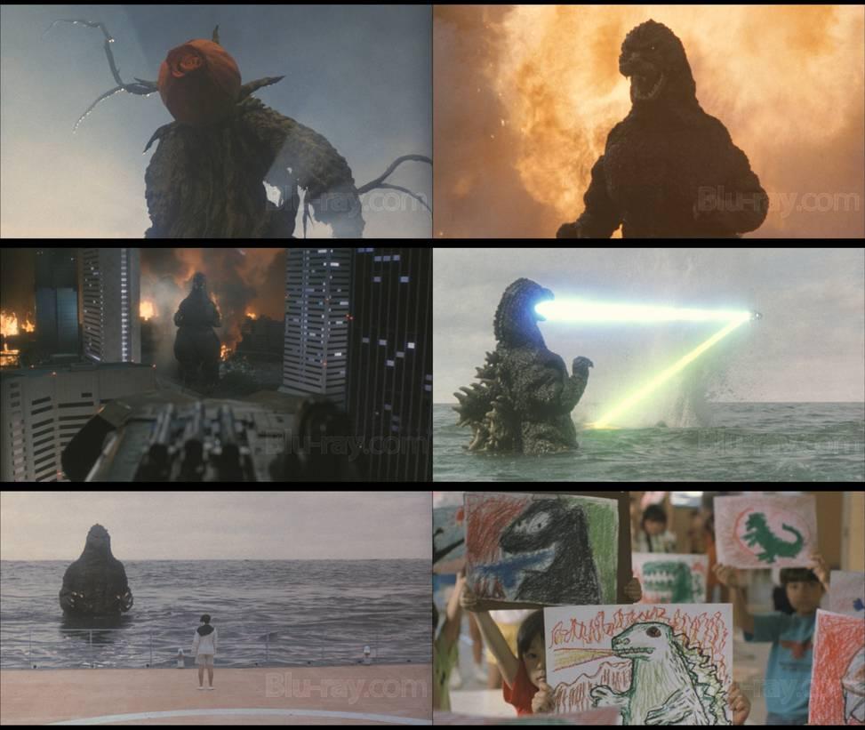 Godzilla vs Biollante Wallpaper by Gojirafan1994 973x821