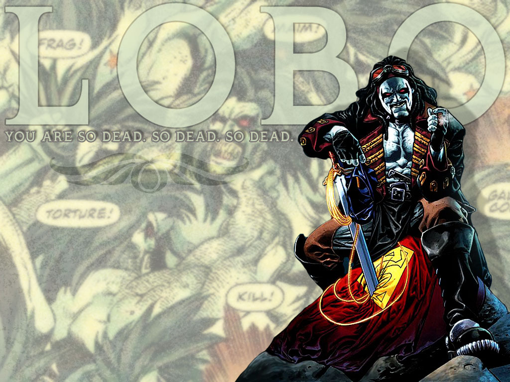 Lobo comic wallpapers   Imagui 1024x768