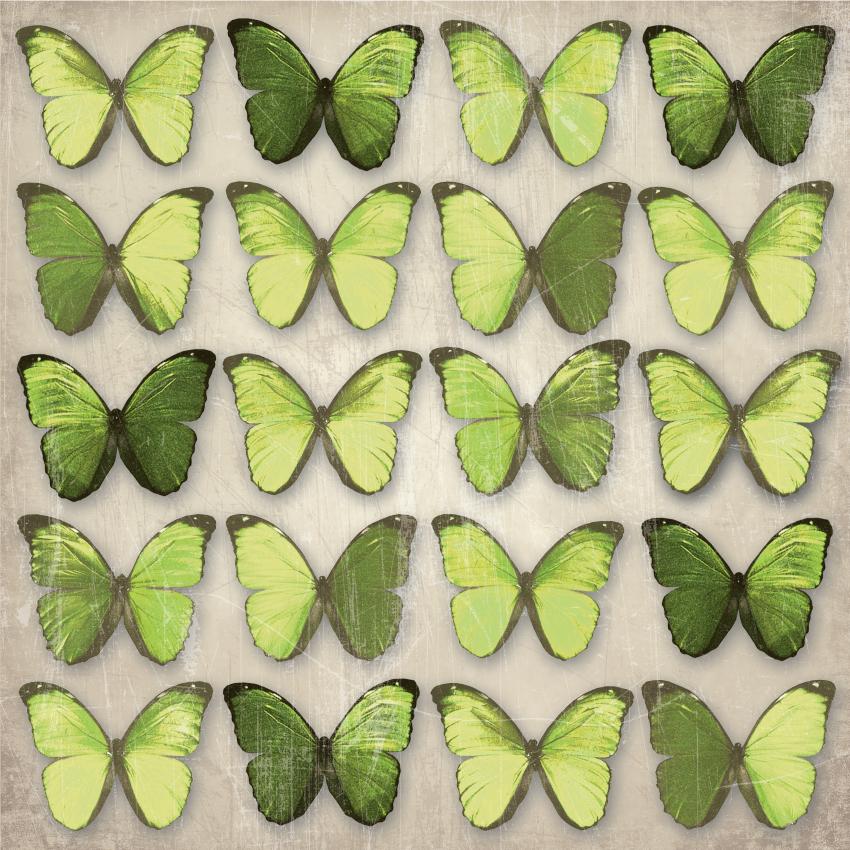 Green Butterflies 850x850