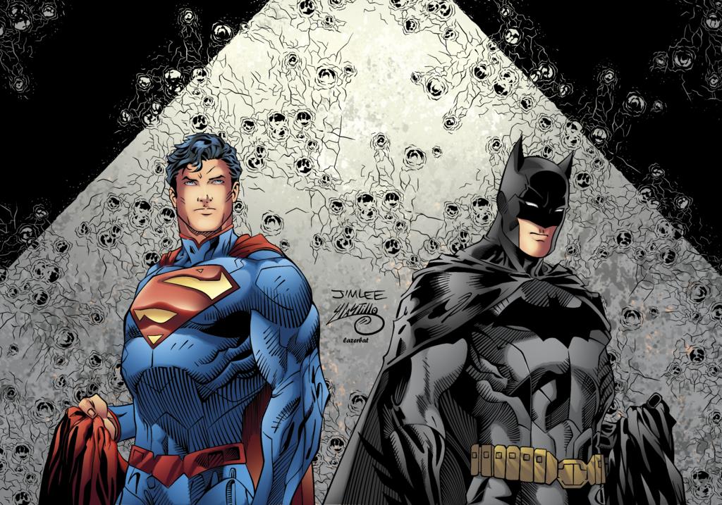 New 52 Batman Vs Superman Comic Hot Girls Wallpaper 1024x717