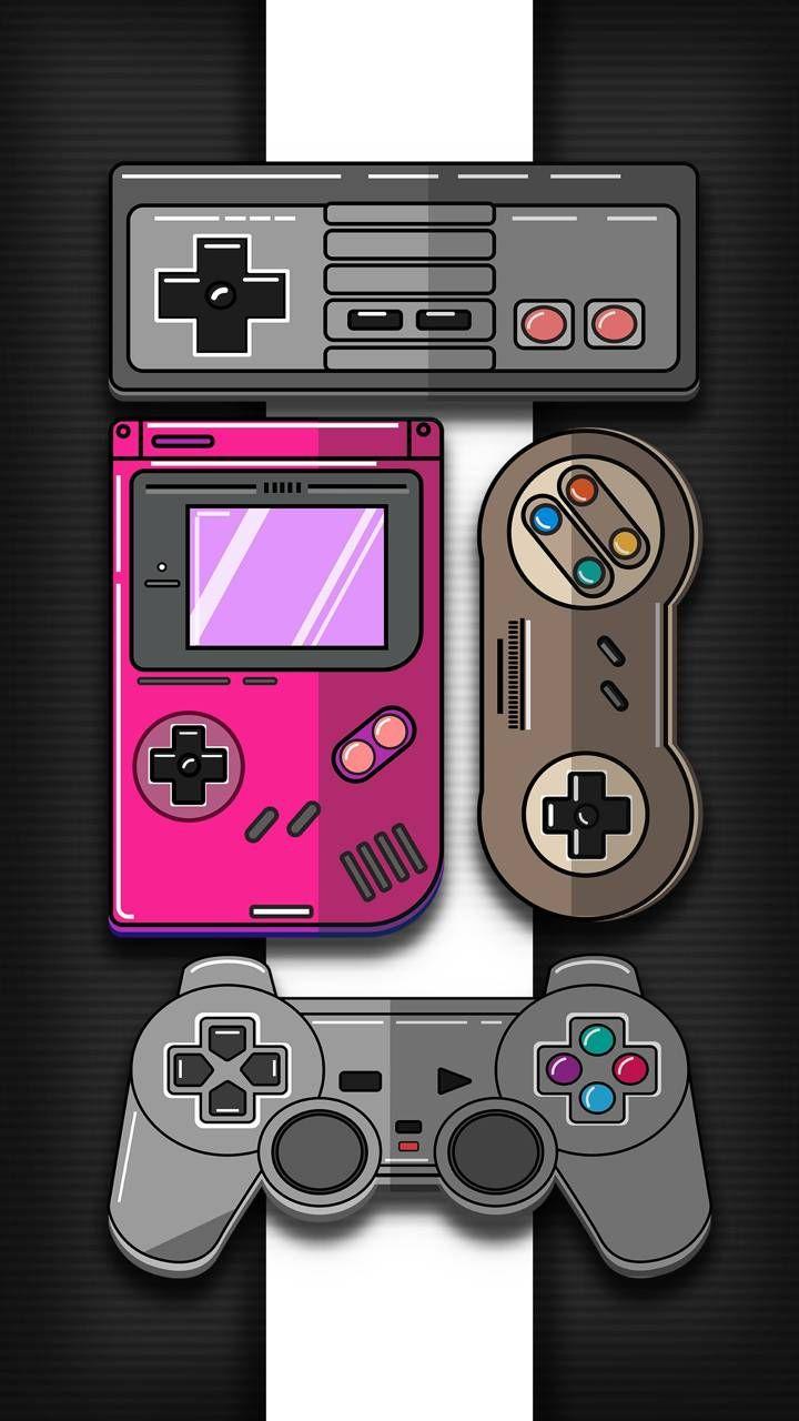 Retro Game Wallpaper by Tenshirok   be   on ZEDGE Papis 720x1280