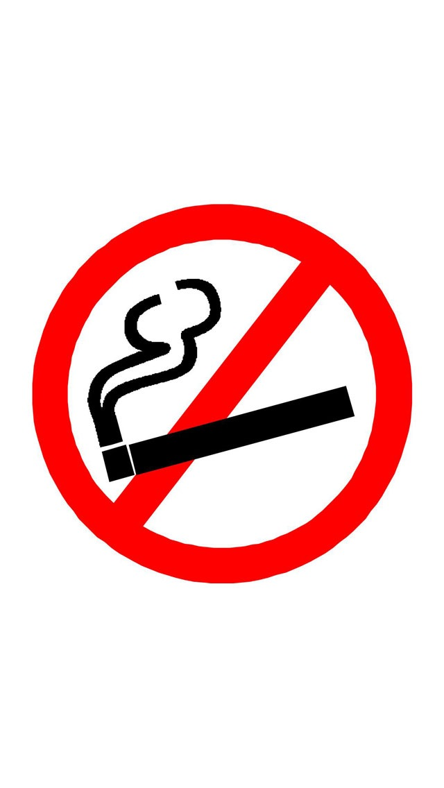 No Smoking Sign Wallpaper   iPhone Wallpapers 640x1136