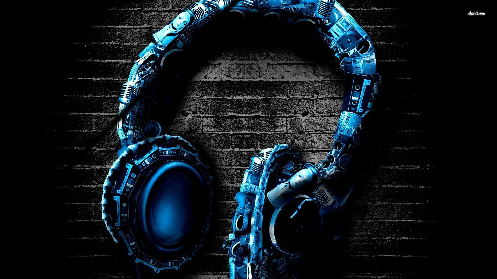 Awesome headphones wallpaper   Music wallpapers   22506 1920x1080