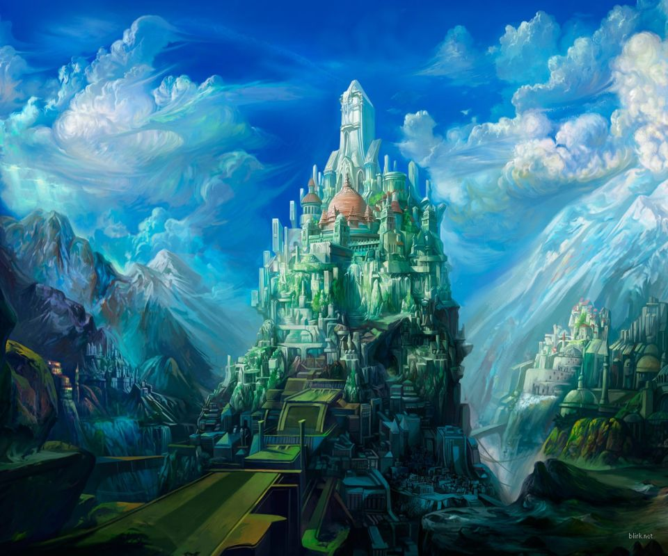 Fantasy Castle Android Wallpapers 960x800 Mobile Phone Images 960x800