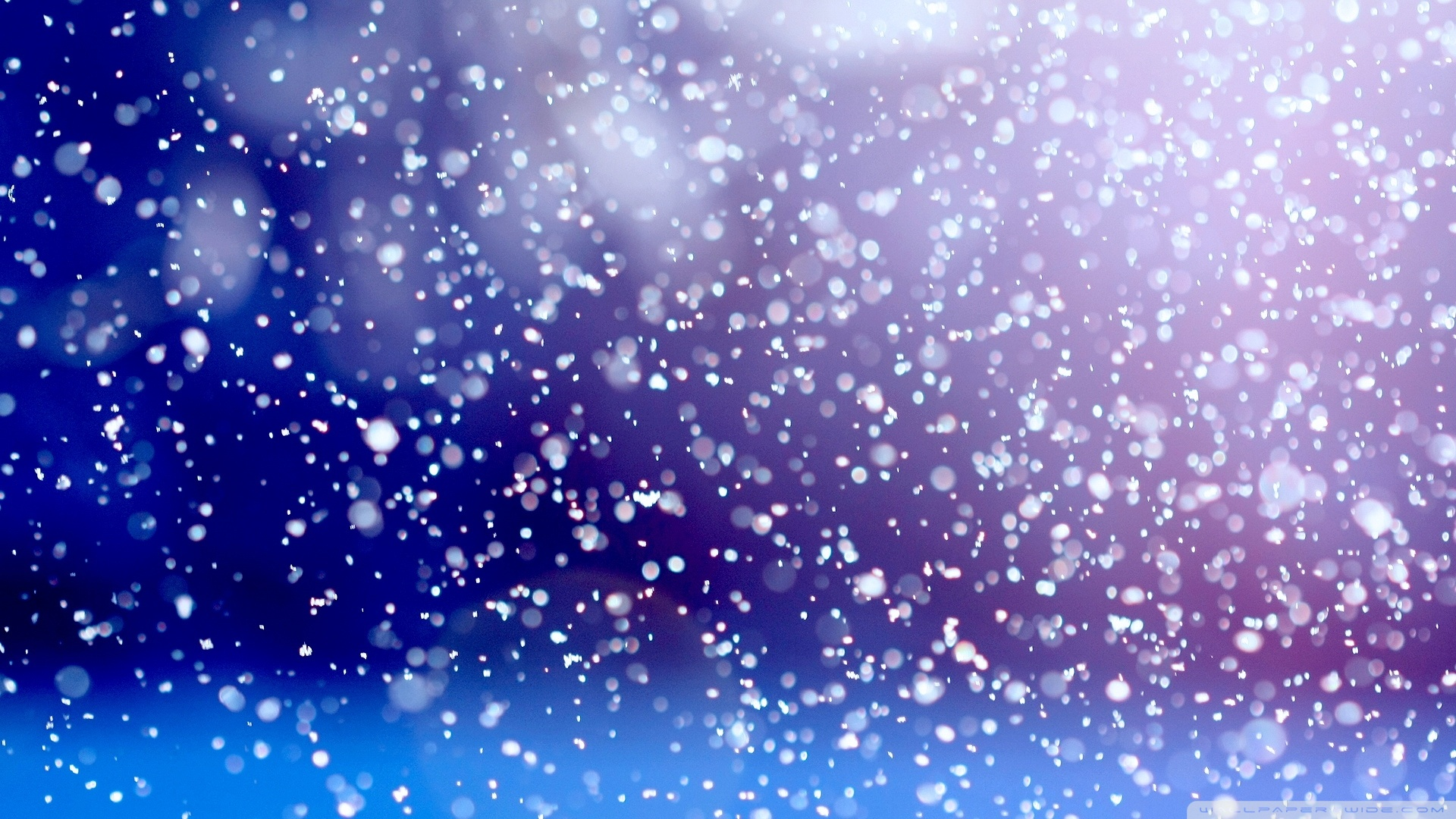 animated snow falling wallpaper
