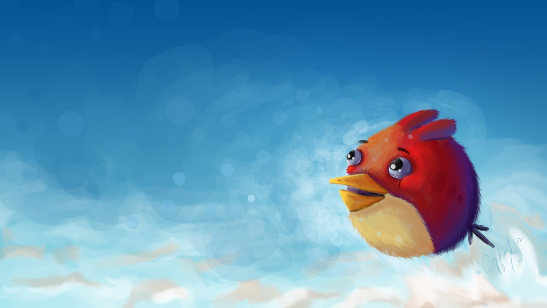 Angry Bird Art HD 1080p Wallpapers Download HD Wallpapers Source 1920x1080