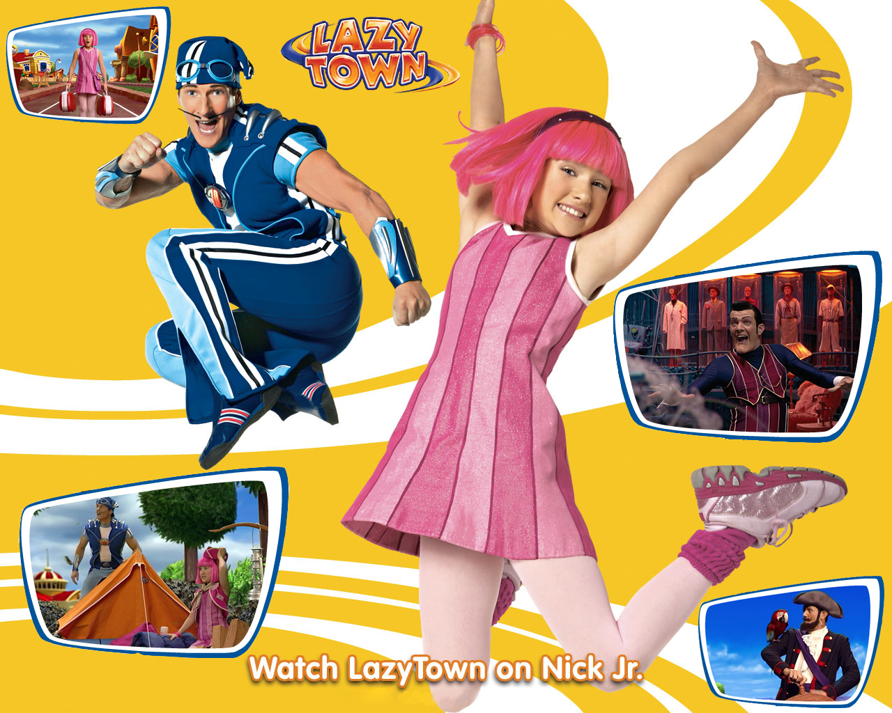 Free download lazy town nick jr wallpaperjpg [1280x1024] for your