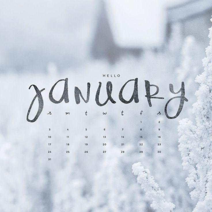 Best 25 January wallpaper ideas January 736x736