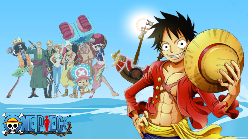 One Piece Luffy HD wallpaper by GeekSoul 1024x576
