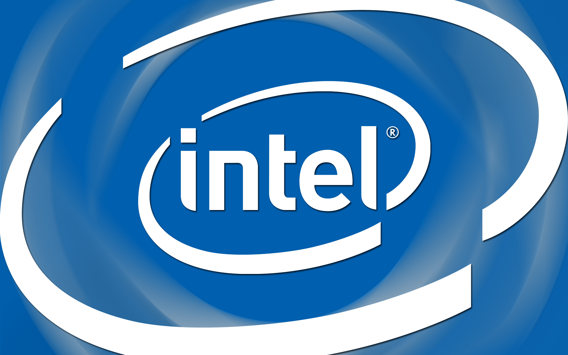 Intel Large Logo Wallpaper Geekpedia 1920x1200
