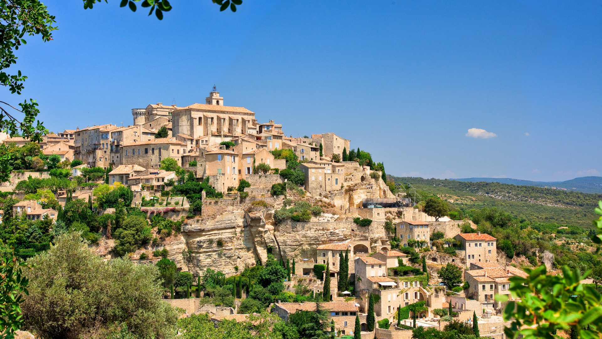 Download Wallpaper Gordes Provence 1920x1080 The Wallpapers 1920x1080