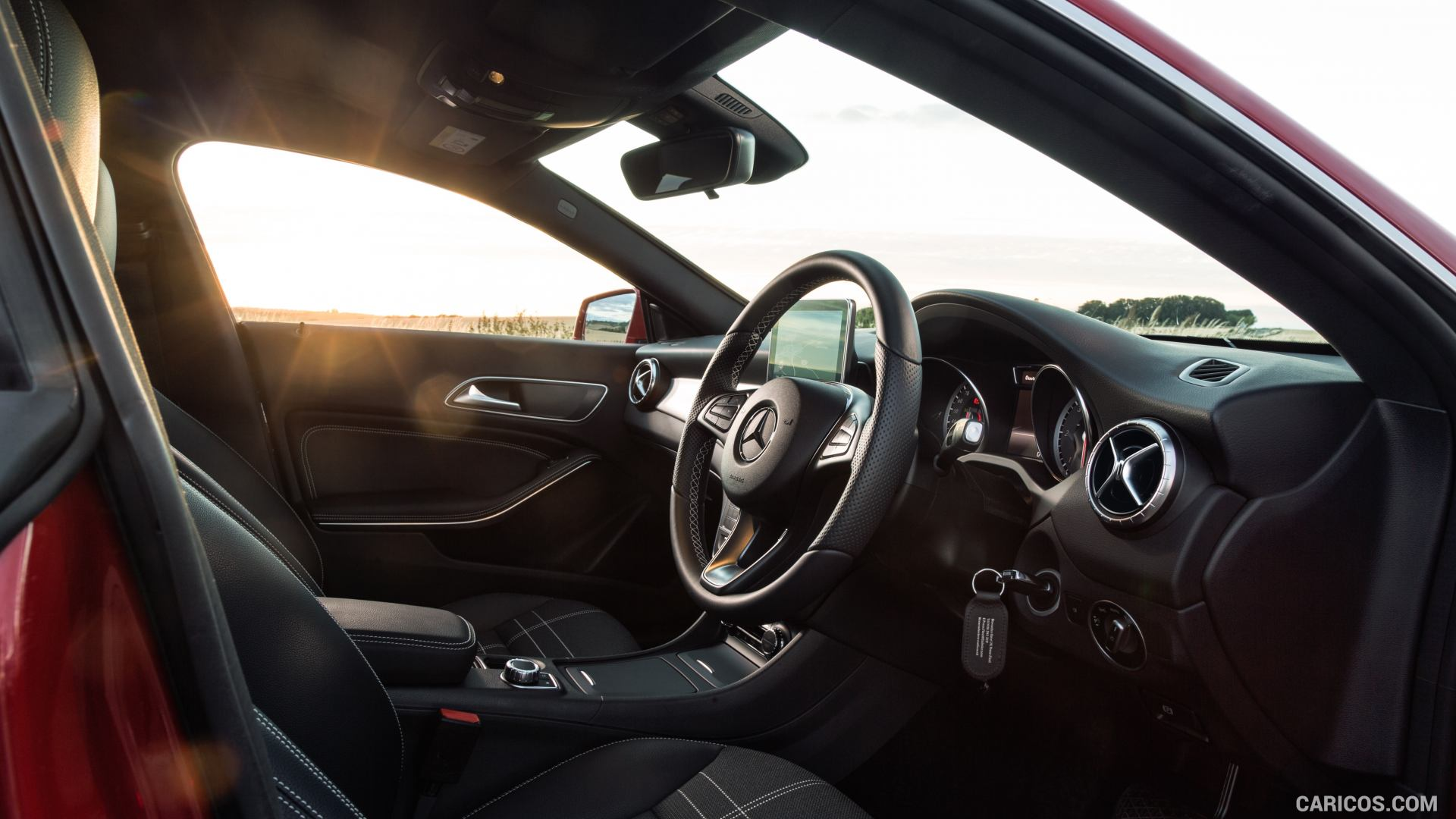 2015 Mercedes Benz CLA 200 CDI Shooting Brake UK Spec   Interior 1920x1080