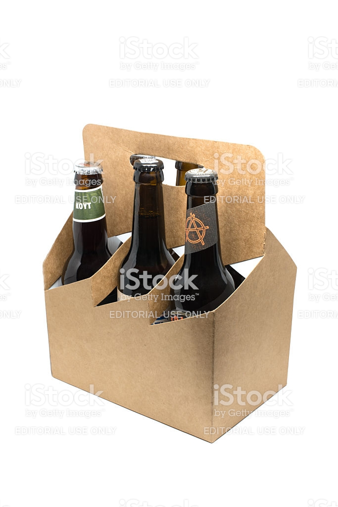 Assortment Of Craft Microbrew Beers In A Sixpack Stock Photo 683x1024