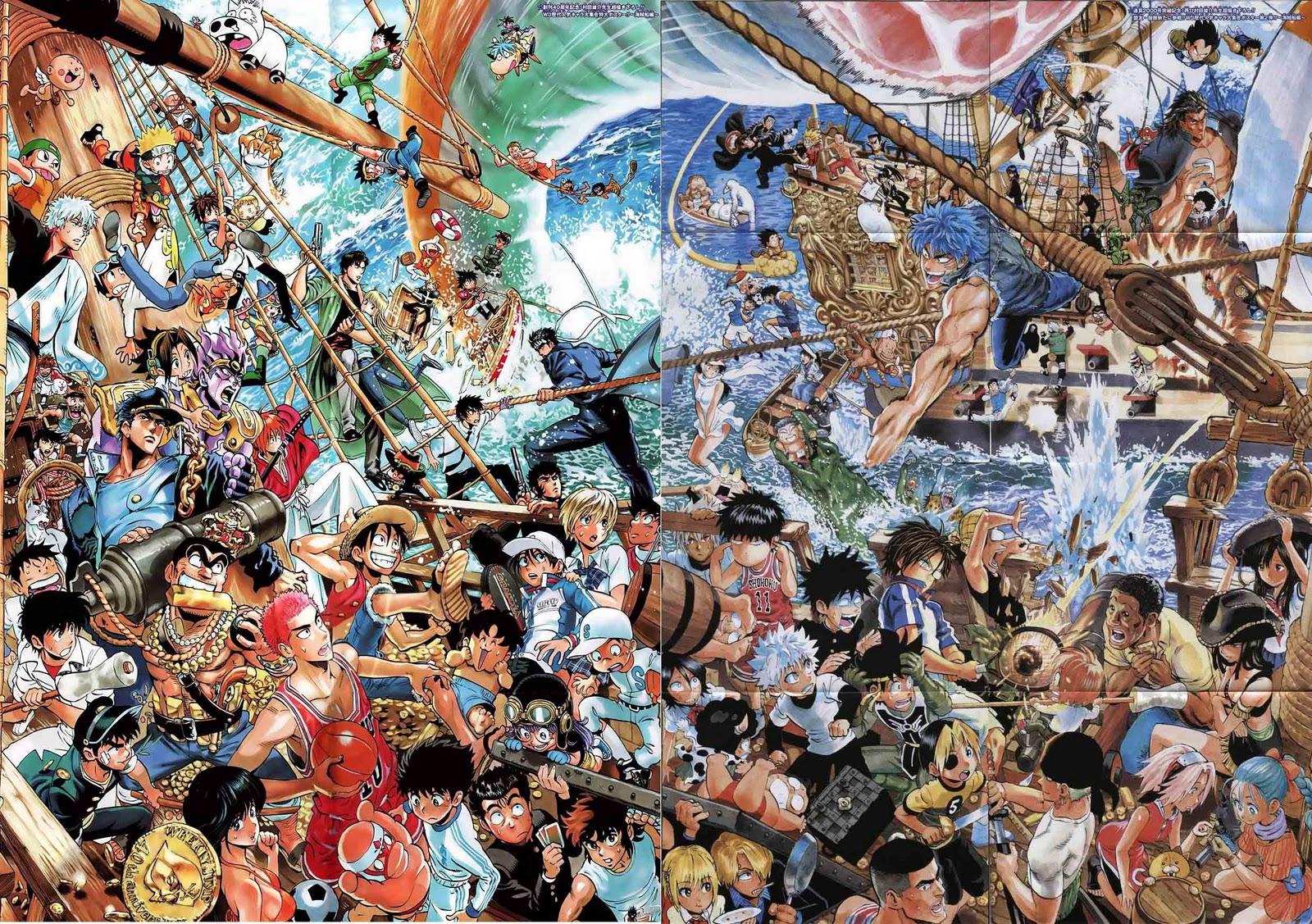 By the Jump Mangakas 1600x1127