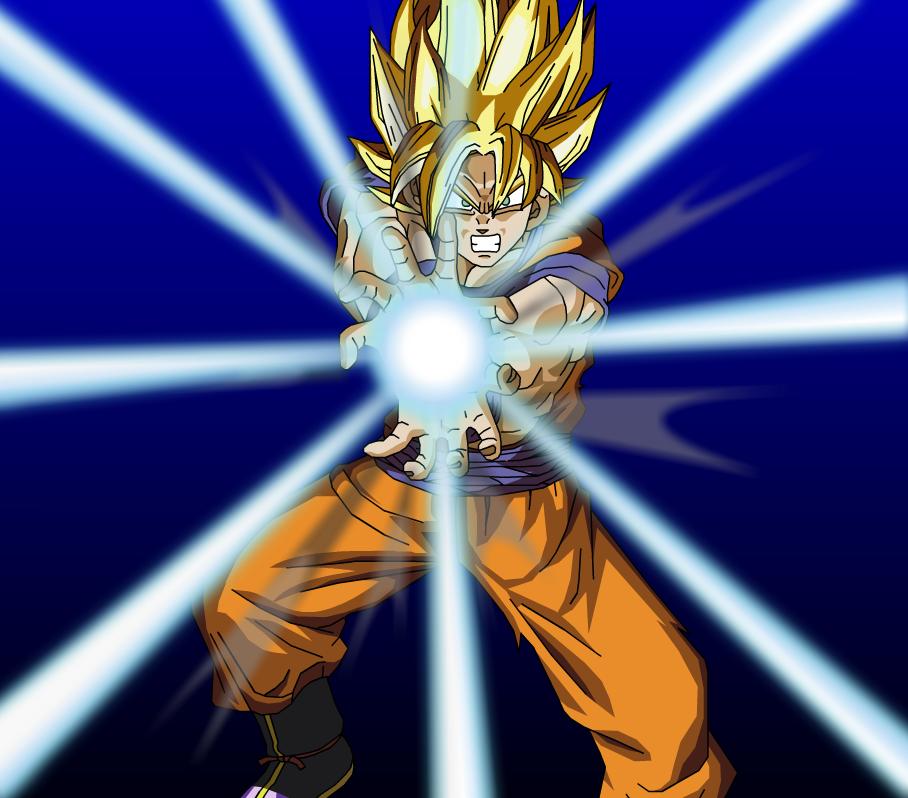 Goku Kamehameha Wallpapers 908x798
