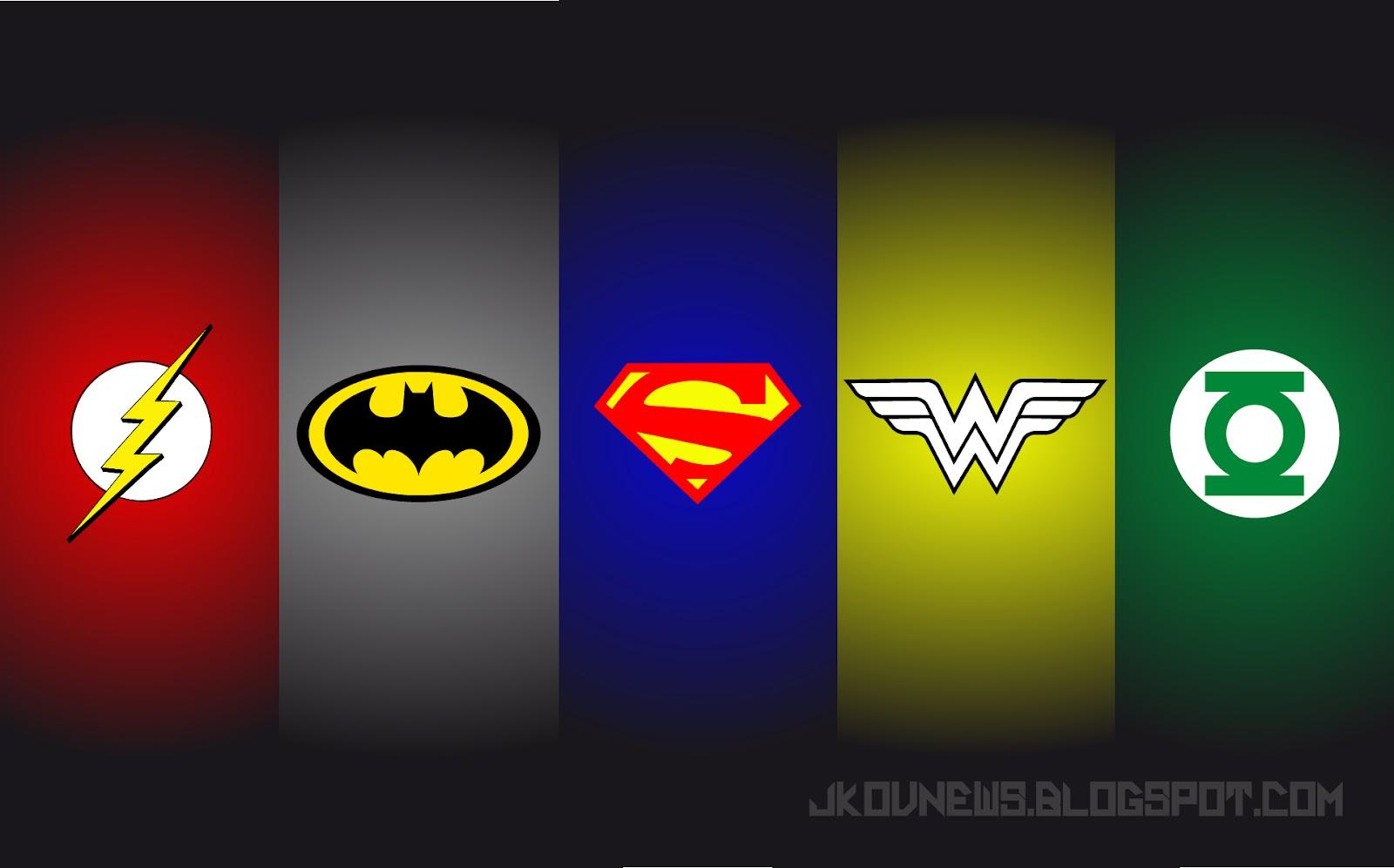 Justice League Emblems Justice League Logo Wa...