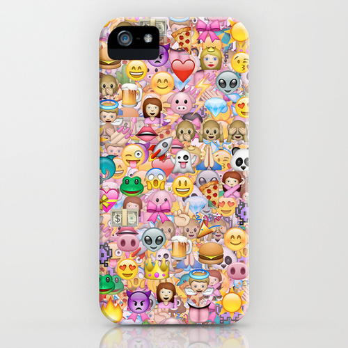 emoji iPhone iPod Case by Marta Olga Klara on We Heart It 500x500