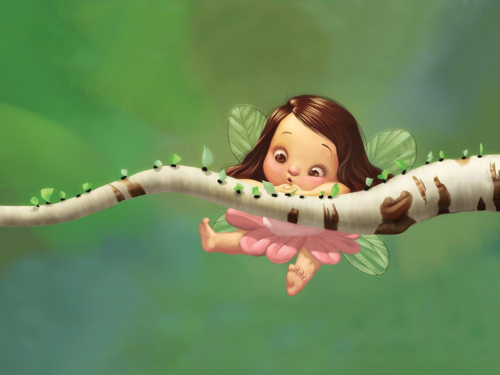Japan 3D Fairy wallpaper Cute Fairy Wallpapers Desktop 1600x1200