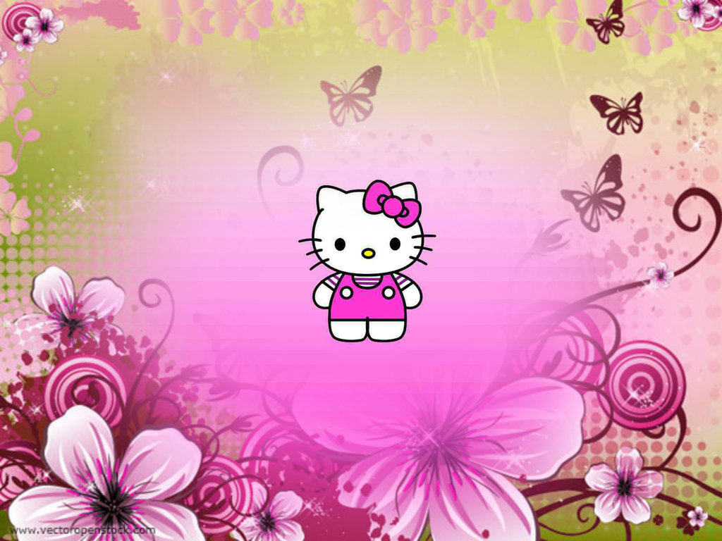 Hello Kitty Backgrounds For Laptops Wallpapersafari