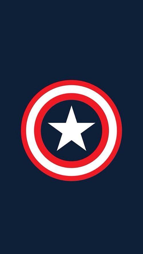 Captain America iPhone 5 wallpaper MARVEL Pinterest 500x889