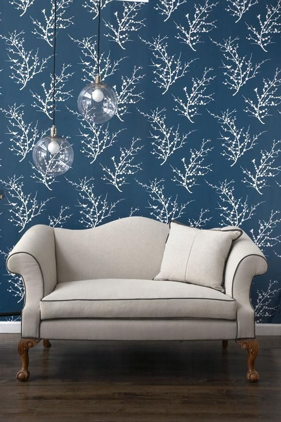 Peel and stick temporary wall paper Edie Tempaper Wallpaper Collection 560x840