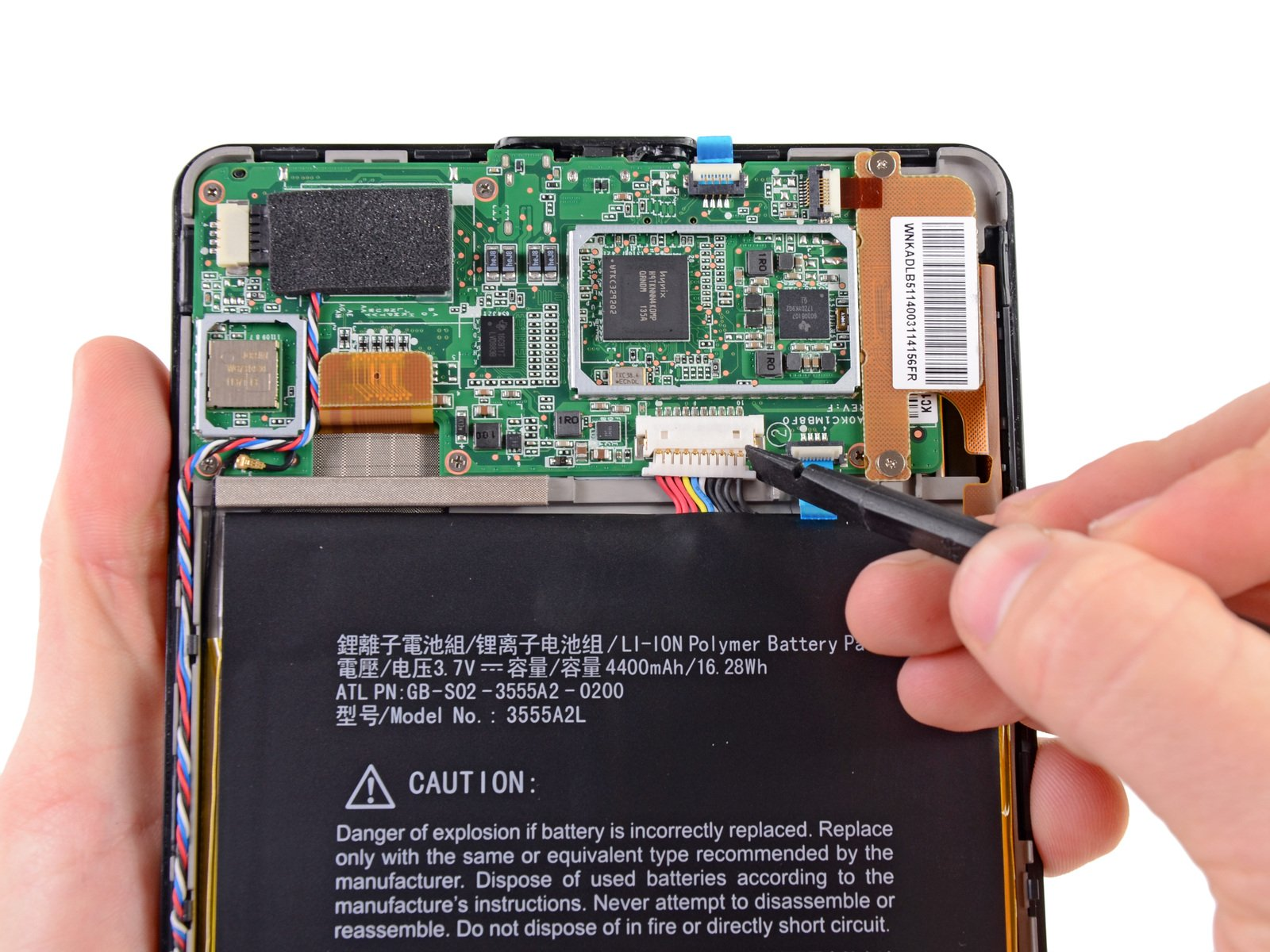 After Teardown Amazon Kindle Fire is an Open Book 1600x1200