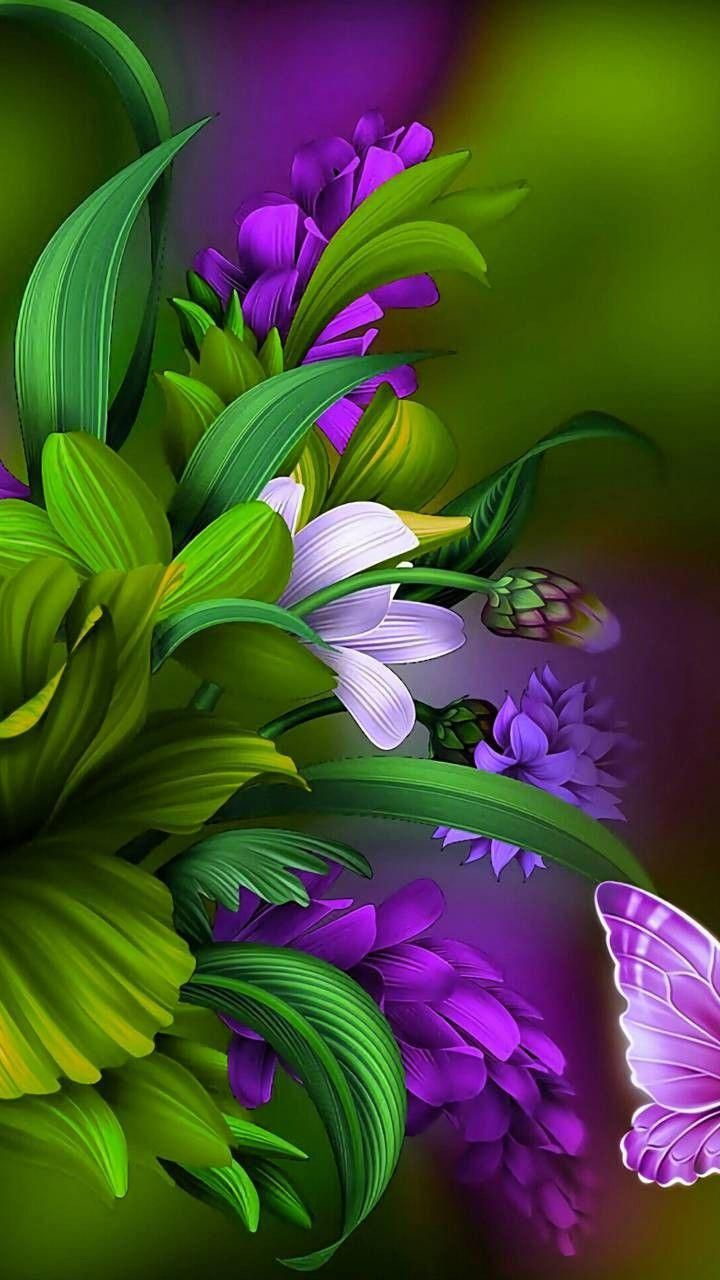 Pin on Floral Wallpapers 720x1280