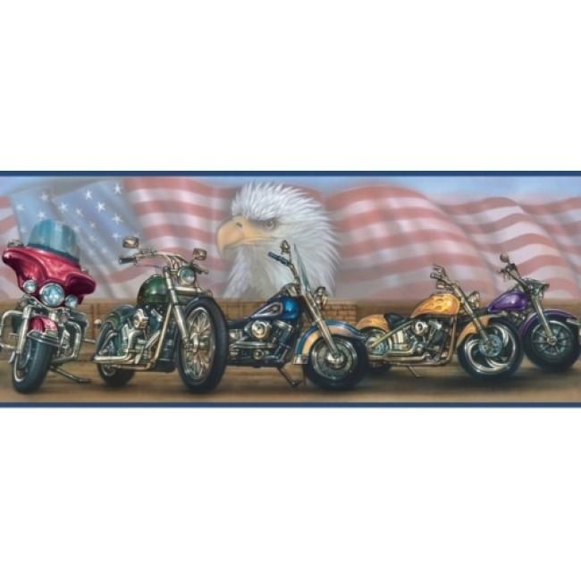 in the USA Patriotic Wallpaper Border   All 4 Walls Wallpaper 650x650