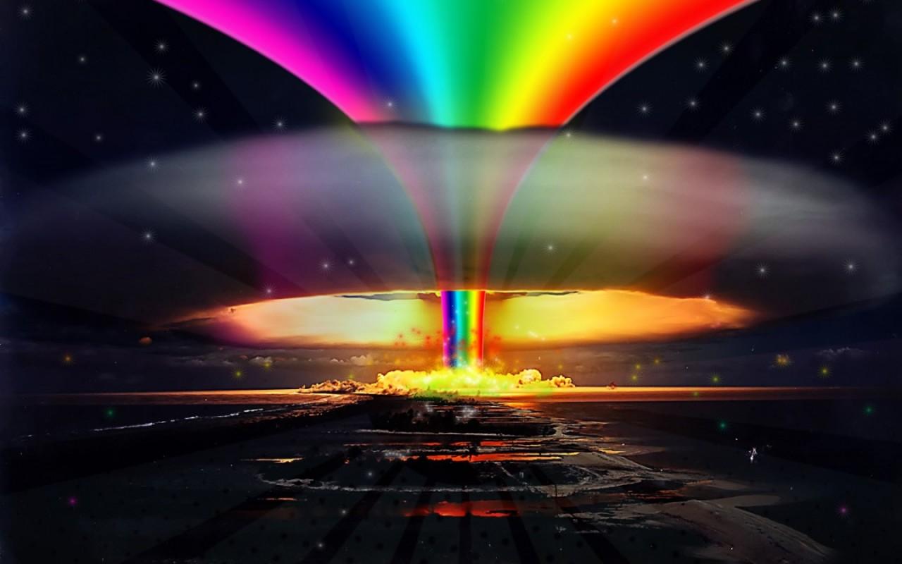 Pics Photos   Nuclear Explosion Wallpaper 1280x800