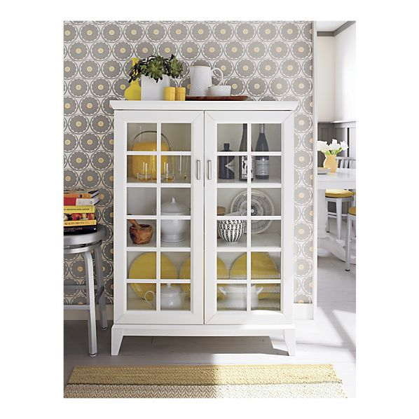 Paterson White 365 Two Door Cabinet 598x598