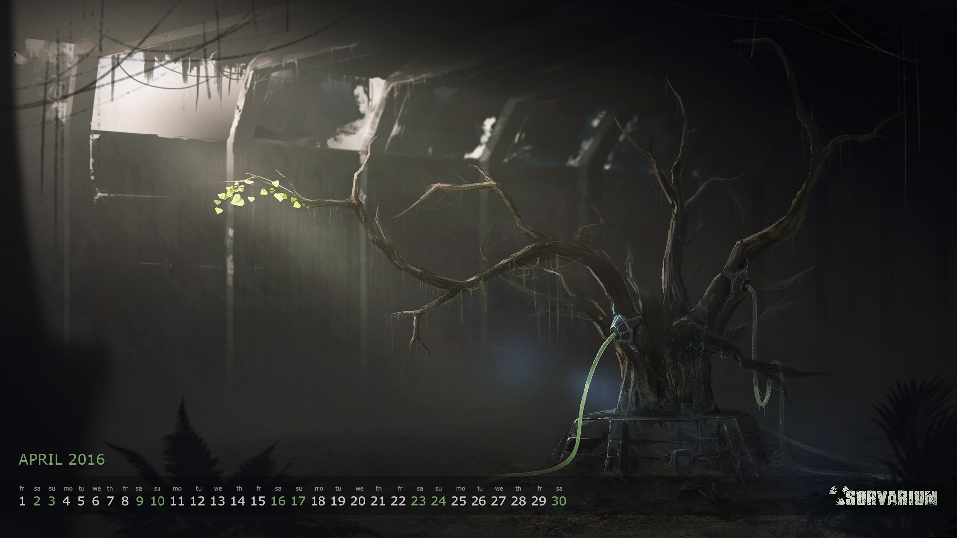Survarium Wallpaper Calendar for April 2016 19201080 1920x1080