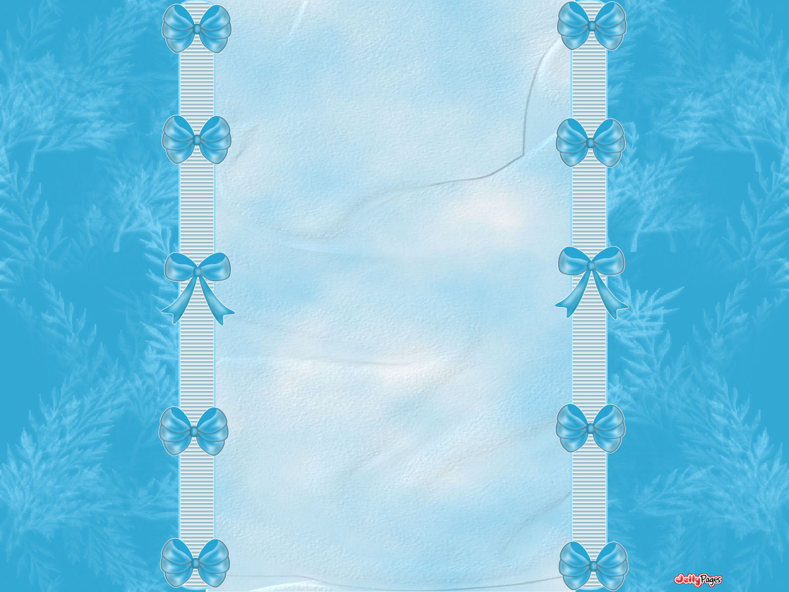 Pretty Blue Bows Blogger Layout Template Blog Background Jelly 1600x1200