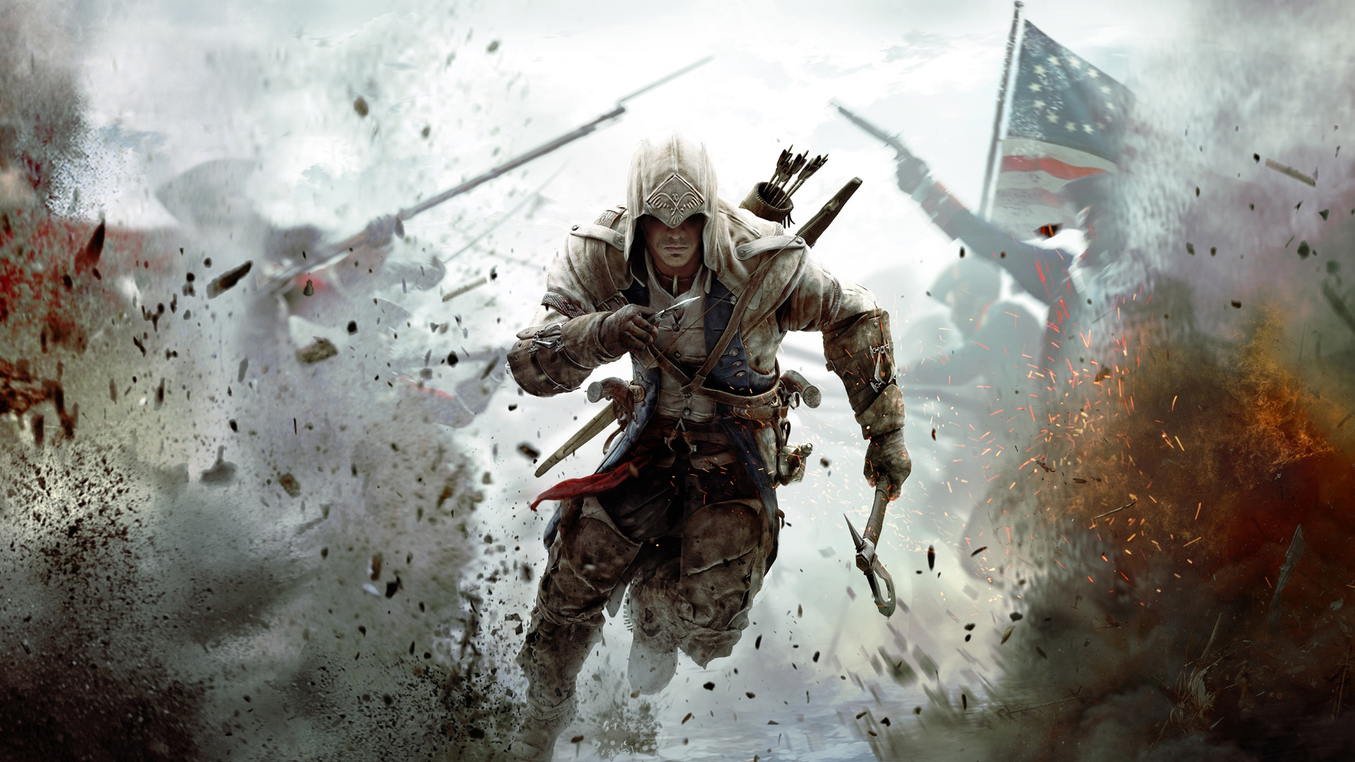 Assassins Creed 3 2012 Game Wallpaper Hd 1080p Pictures Photos 1920x1080