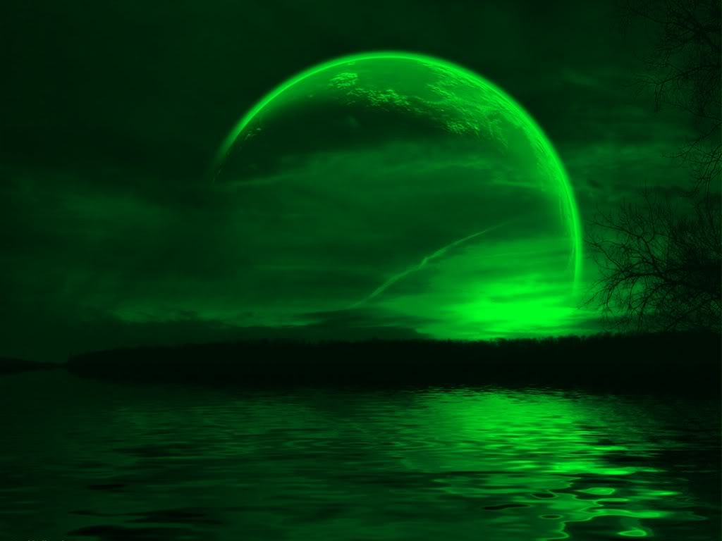 Green Moon Wallpaper 1686 Hd Wallpapers in Space   Imagescicom 1024x768