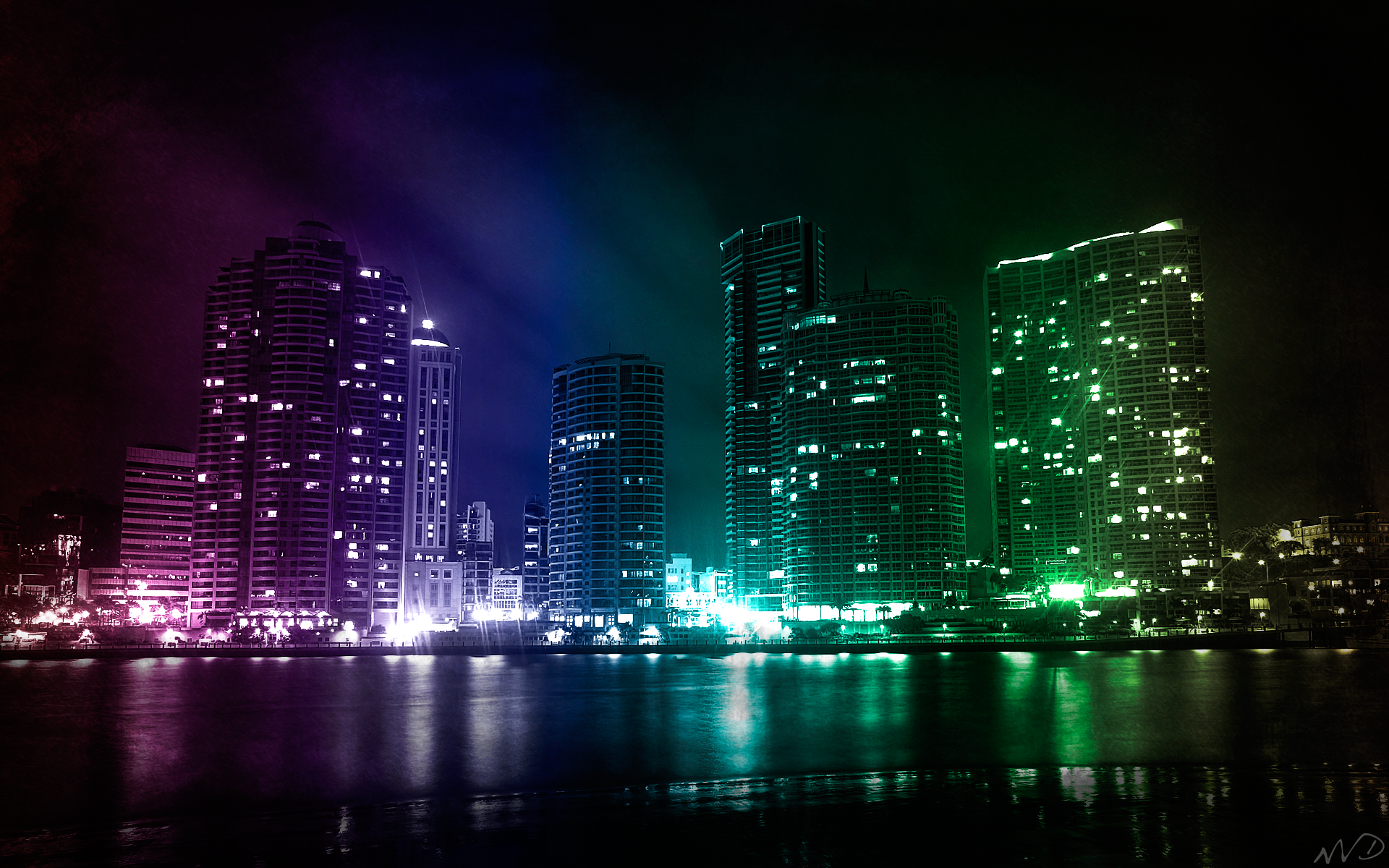 City Lights HD Wallpapers 1080p 1920x1200