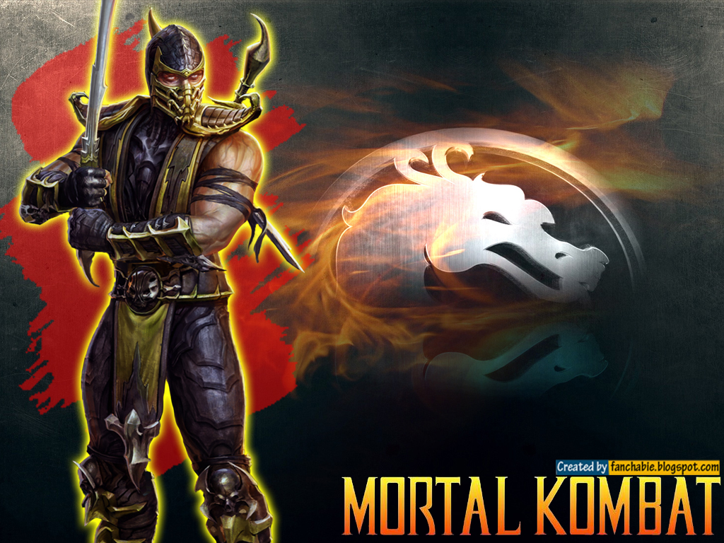 scorpion mortal kombat wallpaper 3 scorpion mortal kombat wallpaper 4 1024x768