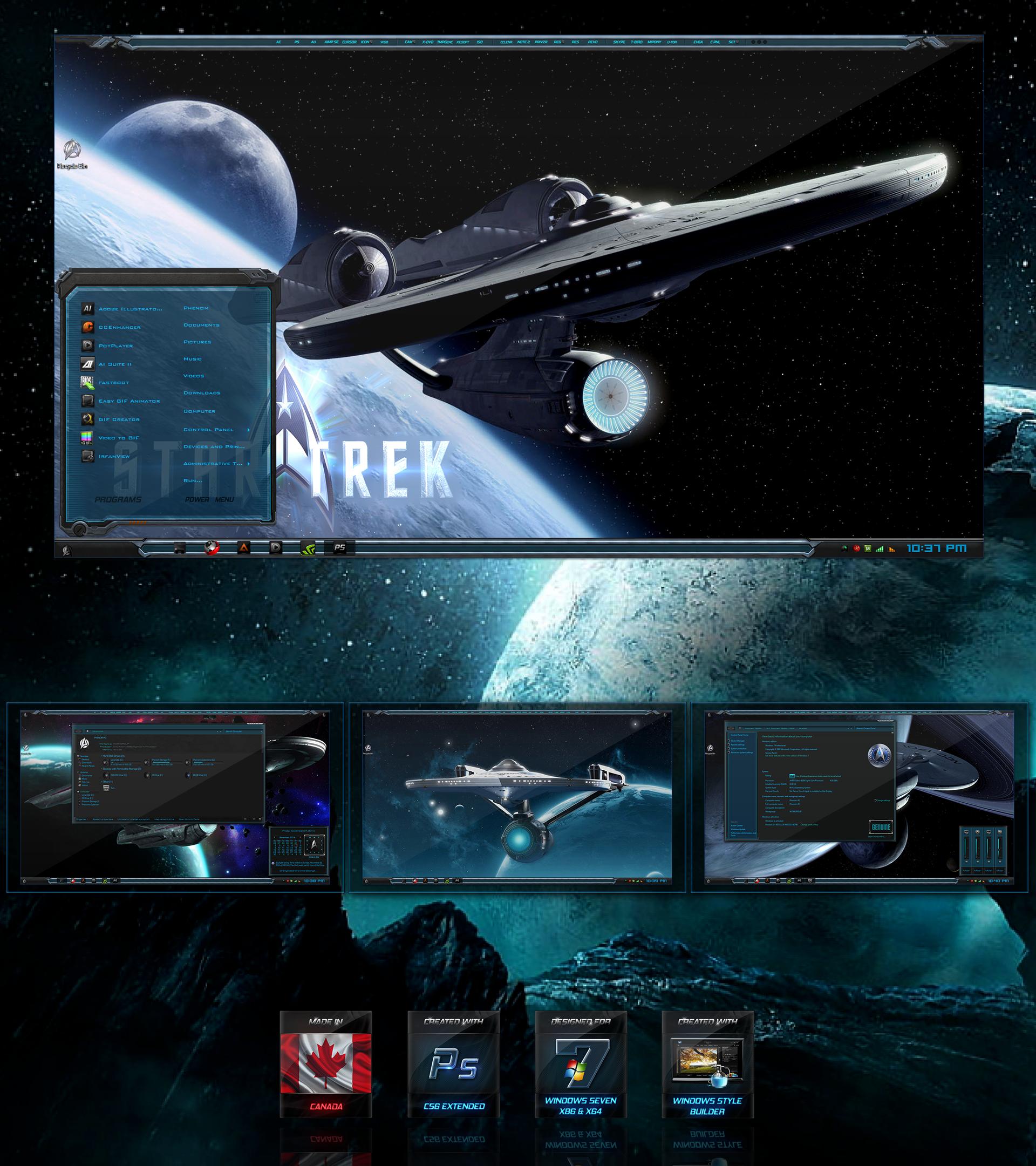 Star Trek Control Panel Wallpaper