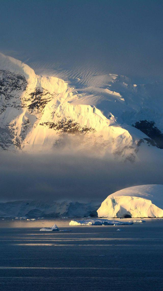 Wallpaper Antarctica 4k 5k wallpaper 8k wallpaper hd wallpaper 640x1138
