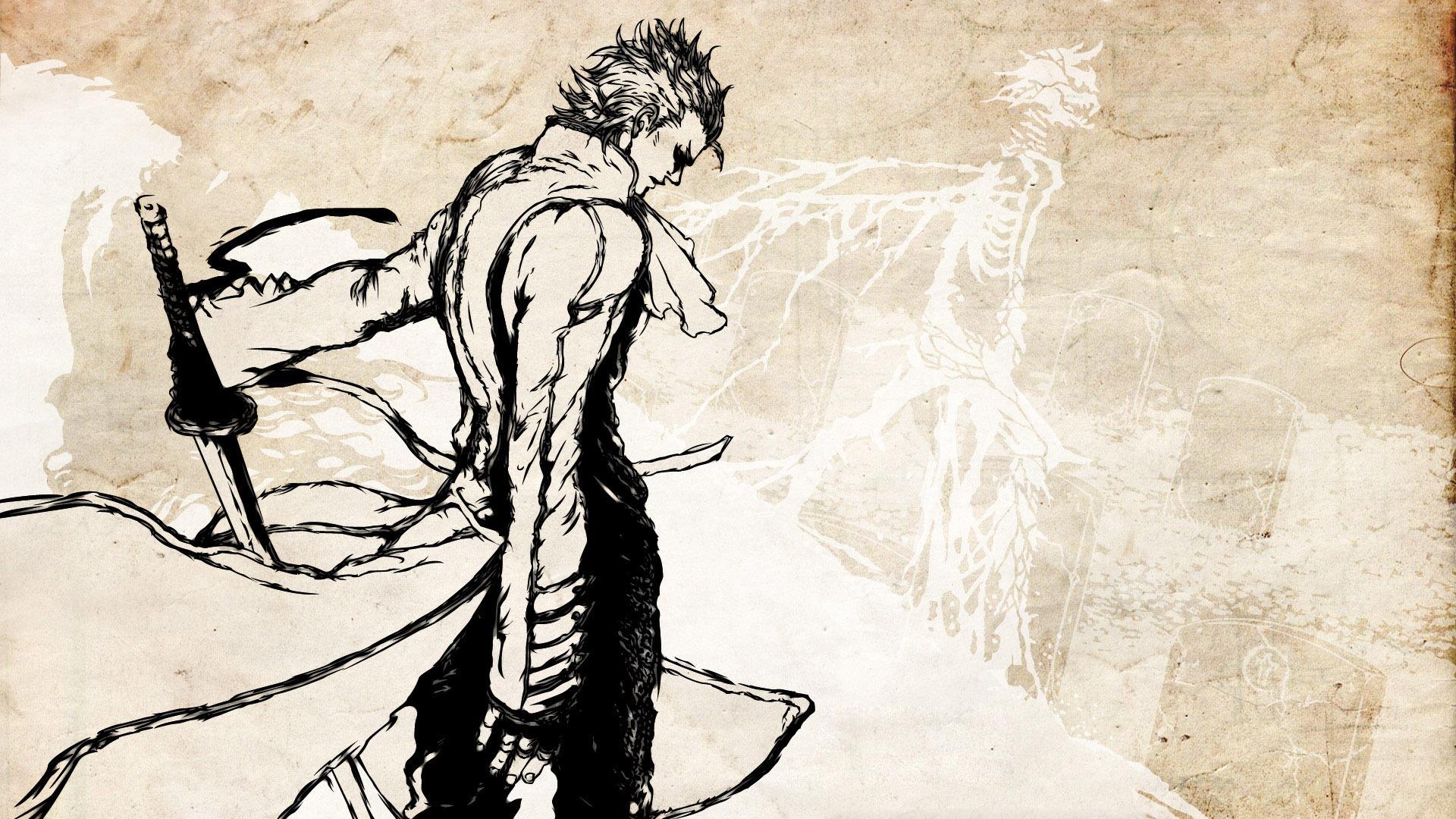 Vergil   Devil May Cry wallpaper 4646 1920x1080