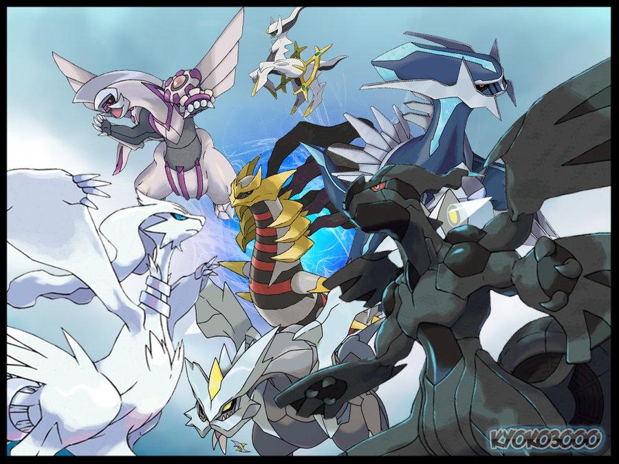 Pokemon Legendary Wallpaper Wallpapersafari