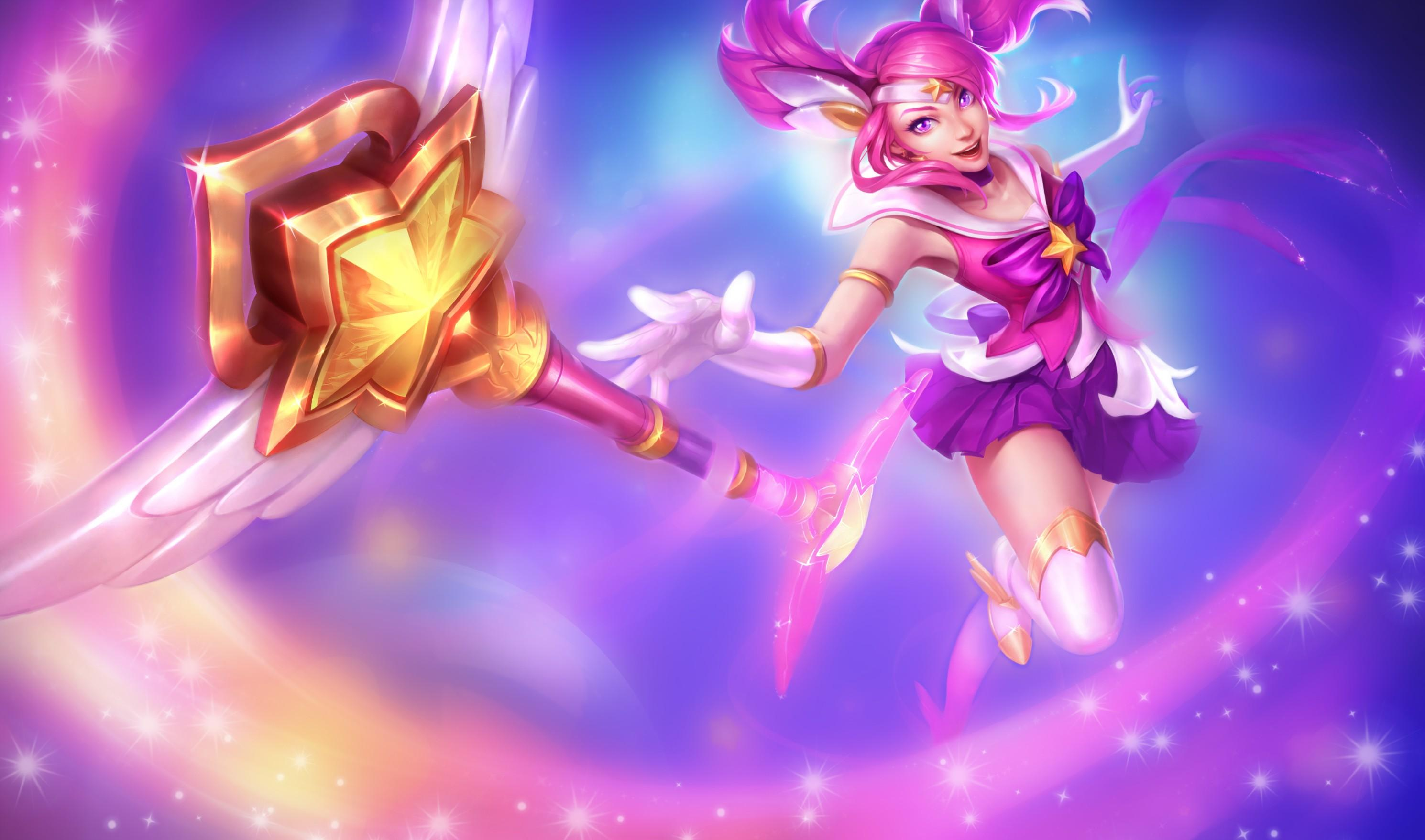 Star Guardian Lux Wallpaper I will do original skin next but can 2980x1758