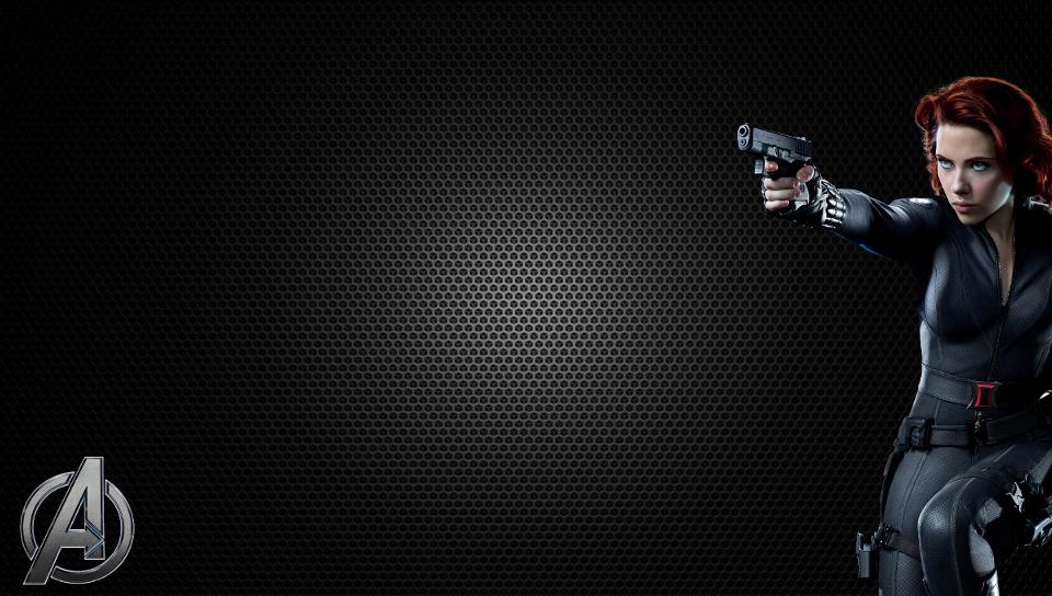 Avengers Black Widow PS Vita Wallpaper 960x544
