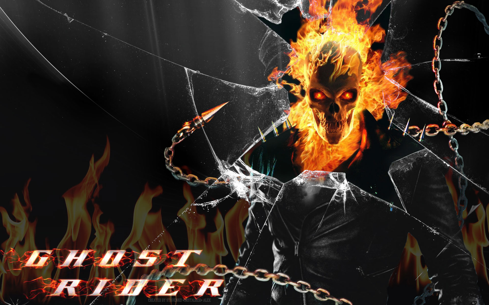 Hd Wallpapers Ghost Rider Bike 1600 X 1000 159 Kb Jpeg HD Wallpapers 1920x1200