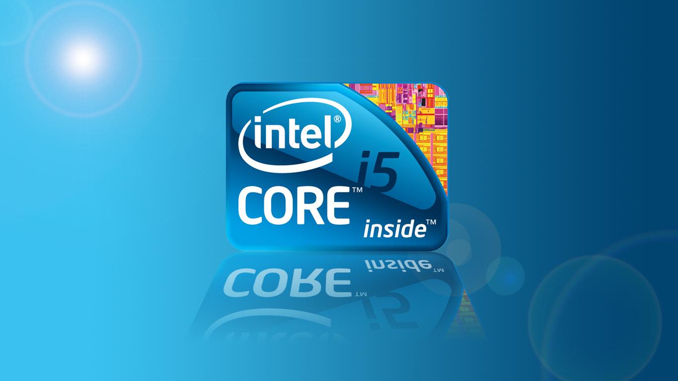 intel Logo Intel 1366x768